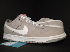 2010 Nike SB DUNK LOW CL PLAID CANVAS DENIM GREY WHIET ASTER PINK 318020-004 12