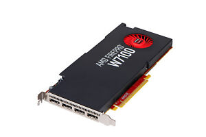 AMD FirePro W7100 8GB GDDR5 Video Card HP 762897-002 763265-001 102C7670301