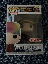 Back To The Future Funko Pop #962 Marty in Future Outfit - Target Exclusive