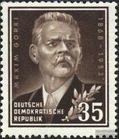 DDR 354 (kompl.Ausg.) gestempelt 1953 85.Geburtstag von Gorki