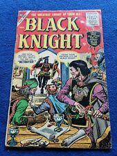 BLACK KNIGHT #4,  VG Cond. ATLAS (1955) Maneely-c/a, Kida-a, Romita-a RARE
