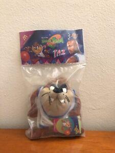 Vintage Space Jam 1996 Taz Plush McDonald's Toy Looney Tunes Tasmanian Devil