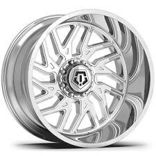 "4-TIS 544C 22x12 6x135/6x5.5"" -44mm Chrome Wheels Rims 22"" Inch"