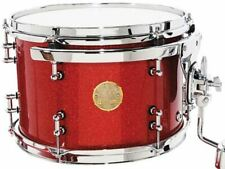 """Ddrum Dios 13"""" Dia. X 9"""" Deep Mounted Tom/Maple Shell/Cherry Red Sparkle/NEW"""