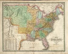 1904 UNITED STATES AMERICA historic map 1804-1904 Territorial Expansion 0279006