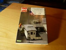 HO 1:87 Busch Military Checkpoint Charlie Border Crossing Kit #1490