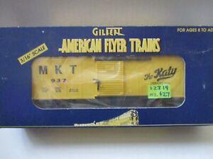 Am Flyer LTI 6-48332 MKT boxcar #2 (1/23/19)