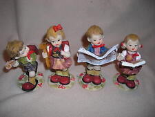 SCHOOL KIDS  FIGURINES - SET OF 4 - NEW BOXED