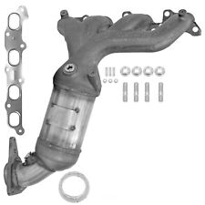 Exhaust Manifold with Integrated Catalytic Converter-Direct Fit Front 50487