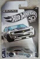 Chevy Camaro Concept 50th Anniversary ZAMAC Series - Hot Wheels 1:64 FRN23*
