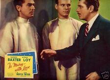 Lobby Card 1936 TO MARY WITH LOVE Warner Baxter