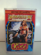 JEU VINTAGE 80'S AMSTRAD CASSETTE CPC 464 - BARBARIAN II