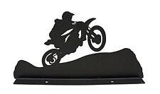 Motocross Motorcycle Mailbox Topper Decor