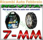 Catene da neve 7mm Lampa RX-7 BMW Serie 3 Touring con pneumatico 255/40r17 GR.12