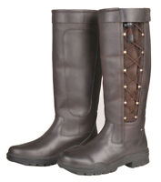 HKM Fashion boots Madrid Winter Membran 5149 Riding yard boots Brown