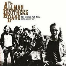 The Allman Brothers Band / A&R Studios, New York, 26th August 1971 - 2 Vinyl LP