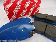 TOYOTA COROLLA FRONT BRAKE PADS AE112 AE102 1997-2002 NEW GENUINE 0446512593