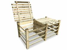 ECO Doppel-Komposter Brettkomposter aus Holz mit Deckel 188x100x80 cm ca. 1300 L