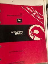 John Deere dear 3E backpack blower operators manual item 12