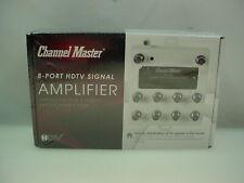 CHANNEL MASTER 8 PORT HDTV SIGNAL AMPLIFIER MODEL CM-3418 - SEALED NEW