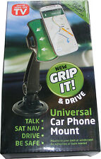 NUOVO GRIP IT & DRIVE AUTO UNIVERSALE in Telefono Mount-si monta sul cruscotto o parabrezza