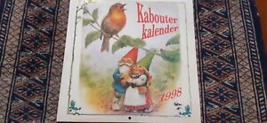 Rien Poortvliet Gnome & Friends Year Calendar 1998 Dutch Holidays Stunning Art