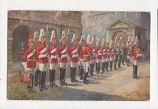 Four O'Clock Parade Horse Guards 1st Lifeguards Harry Payne Tuck Postcard 276a