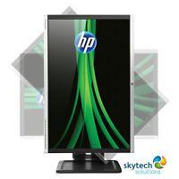 "CHEAP Monitor 24"" Inch PC Computer LCD LED DVI TFT HD FLATSCREEN DELL HP IIYAMA"