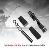 EVA Handle Split Cork Rear Grip Reel Seat Fishing Rod Building Repair Kit Fish