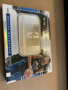 DENNIS SMITH JR '17 Panini Silver📈Troy Ounce RC ROOKIE Jersey #1/16🔥True 1/1💎