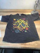 Men's Vintage Chameleon Black Shirt Size M, Made in Usa