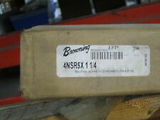 """NEW, BROWNING 4NSR5 X 1-1/4"""" GEAR RACK, 5 PITCH, 4 FT L, 1-3/4"""" FACE, 1-1/4""""H."""