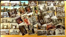 55 Postcards Tower of London & Bridge Yeoman Guard London Bridge LONDON UK 1905