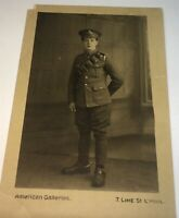 Antique British WWI Mounted Artillery Soldier Spurs! Real Photo Postcard RPPC!