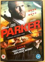 Parker DVD 2012 Action Movie Thriller with Jason Statham and Jennifer Lopez