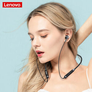 Lenovo HE06 Neckband Wireless Earphones Stereo Sports Waterproof Earbuds Running