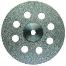 Euro Diamond Disk SuperFlex SingleSided Medium Mounted 0.15mm D351-220-M 2Pk
