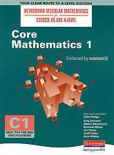 Heinemann Modular Maths for EDEXCEL AS and A-Level Core Book 1 new edition...