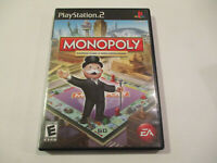 Monopoly for   Ps2 Used in Very Good Condtion  With Manual  Free Shipping