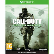 Call of Duty Modern Warfare Remastered XBOX ONE New and Sealed