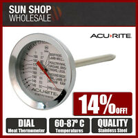 100% Genuine! D.LINE ACURITE Dial Style S/S Meat Thermometer! RRP $21.95!