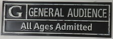 Theather General Audience All Age Admitted Sign Movies TV Shows