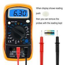 Digital Voltmeter Ammeter Ohmmeter Multimeter Volt Ac Dc Tester Meter Multimeter