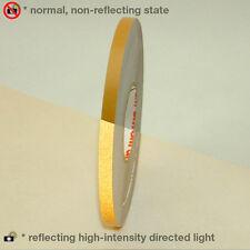 3M Scotch Scotchlite Reflective Striping Tape: 1/4 in. x 50 ft. (Gold)