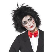 Mlle Saw Perruque Femmes Halloween Jigsaw Déguisement Horreur PERRUQUE