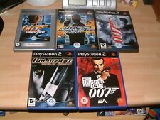 JAMES BOND 007 NIGHTFIRE + AGENT UNDER FIRE + FROM RUSSIA WITH LOVE + 2 MORE PS2