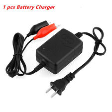 1X 12V 1300mA Battery Trickle Charger Auto Car/Van/Motorcycle Tender Maintainer