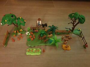 Playmobil Wald Tiere 28 Stück Sammlung Konvolut