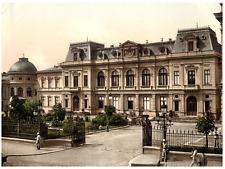 Rumänien. Bukarest. Kônigl. Palais, Empfangsbäude.  PZ vintage photochromie, p