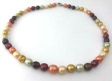 de6609c5a562 Collares y colgantes de joyería con perlas multicolor perla